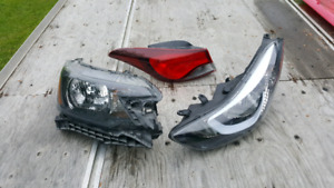Headlights and taillamps for sale