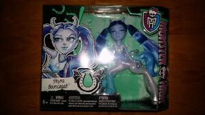 Monster High Fright Mares Doll Skyra Bounceqait
