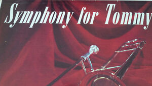 LP: Symphony for Tommy, Tribute to Tommy Dorsey, 33 1/3 RPM Kitchener / Waterloo Kitchener Area image 2