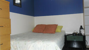 cozy-furnished-clean basement room min one week or longer
