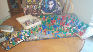 World of warcraft board game, all pieces included 100 obo Peterborough Peterborough Area image 1