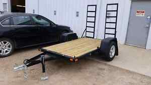 "54"" × 90"" trailer with loading ramps"
