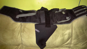 Size large Dog Knee support and hind end Lift Support