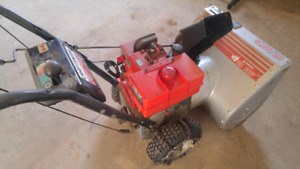 "5hp 23"" Craftsman snowblower"