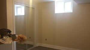2 bedroom basement apartment in the desired area of Pickering