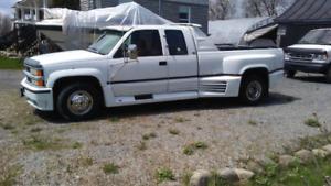 Camion silverado 3500 6.5 turbo diesel4x4 6 roue