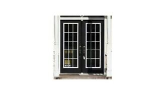 Used exterior french door