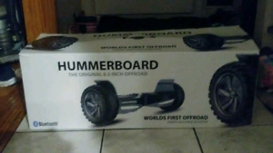 8.5' Hummer off road hoverboard with go cart add on