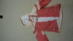 Girls Columbia spring / fall jacket size 6 / 6x