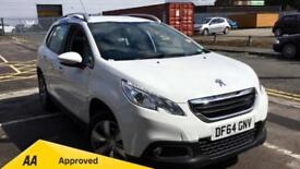 2015 Peugeot 2008 SUV 1.2 VTi Active 5dr Manual Petrol Estate