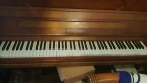 Brown Used Upright Piano Sale. made from pure quality oak