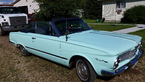 Rare US Model Plymouth Valiant Convertable