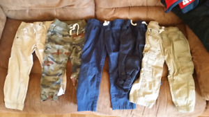 Boys cargos and pants 3t