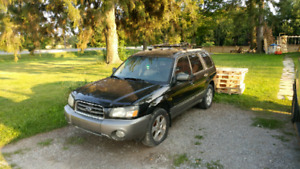 03 Forester 2.5XS parts car or fix it up