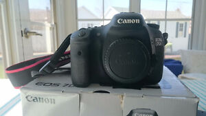 Boitier Canon EOS 7D