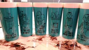 NFC Vintage Tumblers with Funny Bar/Alcohol Sayings