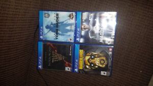 Ps4 games and headaet