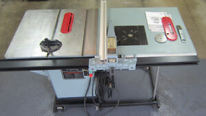 """10 """" Delta CabinetTable Saw  / Unifence / Mobile base"""