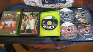 Loose xbox360 and xbox collection 150 obo