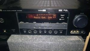 500w Yamaha htr6030 5.1 Dolby digital ah rec w/ kenwood speakers