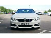 2015 BMW 4 Series 420d [190] M Sport 2dr Auto [Professional Media] Coupe diesel