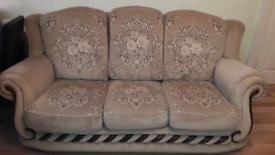 3 seat sofa and 2 single seat sofa's