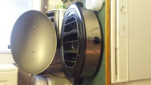 Rival stainless steel large cooker and warmer.