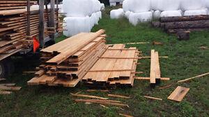 Bois Scié- Sawed lumber