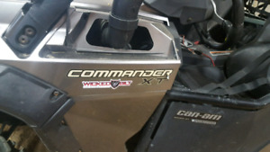 2012 2013 Can Am Commander XT 1000