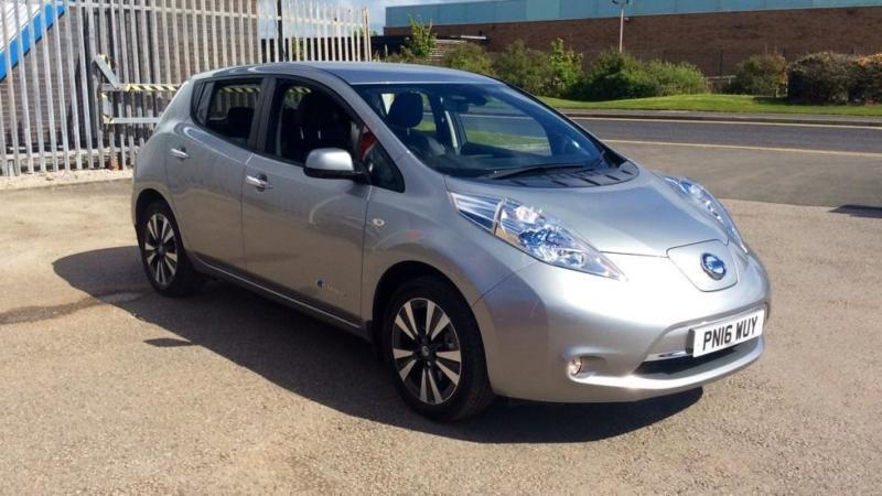 2016 nissan leaf tekna 30kw electric in blackpool. Black Bedroom Furniture Sets. Home Design Ideas