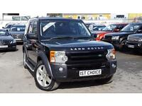 2006 LAND ROVER DISCOVERY 3 TDV6 HSE VERY LOW MILEAGE FSH JUST 1 PRIVATE OW