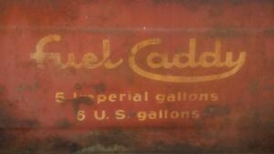 For Sale - Fuel Caddy Vintage Outboard Fuel Tank