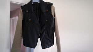Leather jacket for cheap!