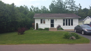Nice bungalow shediac, detached garage.