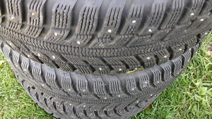 195/65R15 WINTER TIRES WITH HONDA CIVIC RIME 2013
