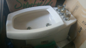 Kohler bidet with faucets