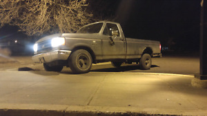 2 1988 Ford F150s