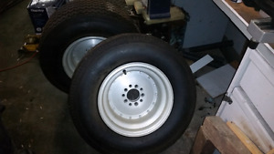 Very low mile Mickey Thompson sportsman tires 12x15