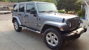 2013 Jeep Wrangler Saraha Unlimited
