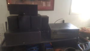 Dennon AVR-3802  surround w/ Paradigm PS1200 subwoofer