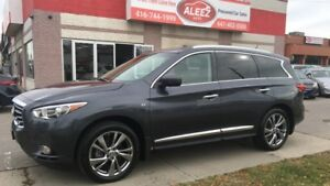 2014 Infiniti QX60 CLEAN LOW MILEAGE NO ACCIDENT, ONE OWNER, NAV