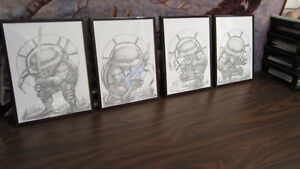 All Tmnt original pencil drawing for sale by Andre Boulard