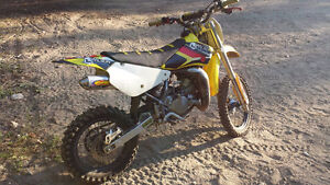 2010 rm 85 two stroke