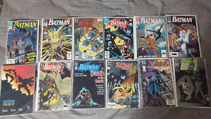batman DC comics lot 30 comic books