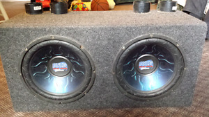 """Subwoofer 1000 watts and speaker size 10"""""""