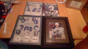 Toronto Maple Leafs Pic + 3 Boarded Posters For Sale Or Trade!