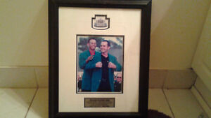PICTURE OF MIKE WEIR AND TIGER WOODS-$25 FIRM Peterborough Peterborough Area image 6