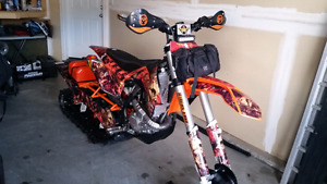 Reduced $$ 2015 ktm 520 nitrous timbersled ST loaded snowbike