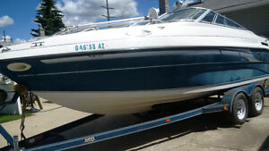 Luxury Mariah Davanti 215 with a new engine and a cuddy cabin