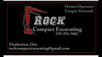 Compact excavating services